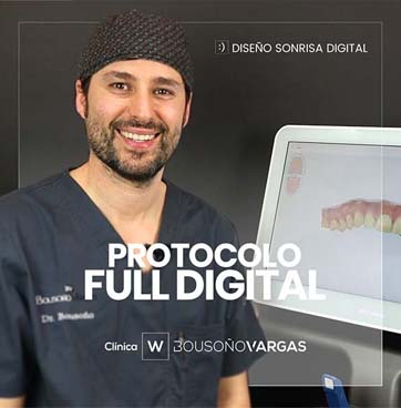 protocolo full digital. implantes dentales. cirugía guiada. diseño de sonrisas. dentista en oviedo