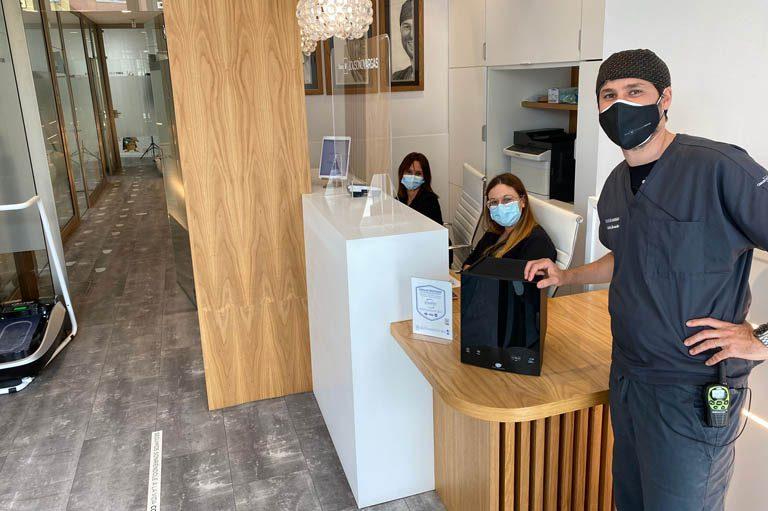 Más seguridad contra el COVID19 con el nuevo ActivePure. Bousoño Vargas, tu clínica dental en Oviedo.